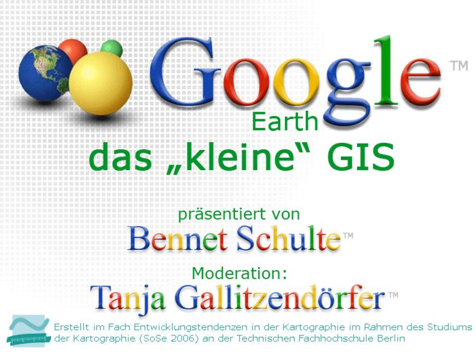 22 Yahoo Maps (http://maps.yahoo.com) Browserbasierter Dienst Beta-Version Satellitenfotos zumindest in den USA hochauflösend Live Verkehr Idee mit Übersichtskarte wurde sofort von Google Maps übernommen Abbildung erstellt von Bennet Schulte 2006
