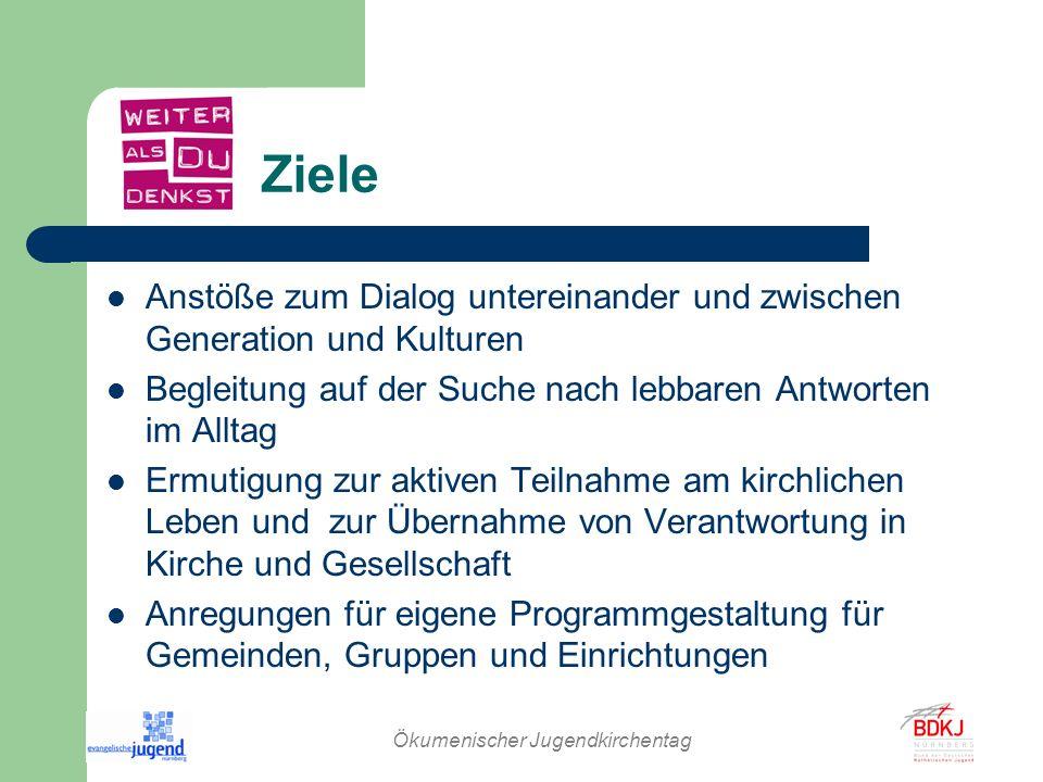 Ökumenischer Jugendkirchentag Beteiligung erwünscht.