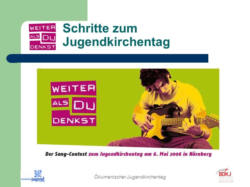 Ökumenischer Jugendkirchentag Alle weiteren Informationen www.weiter-als-du-denkst.de