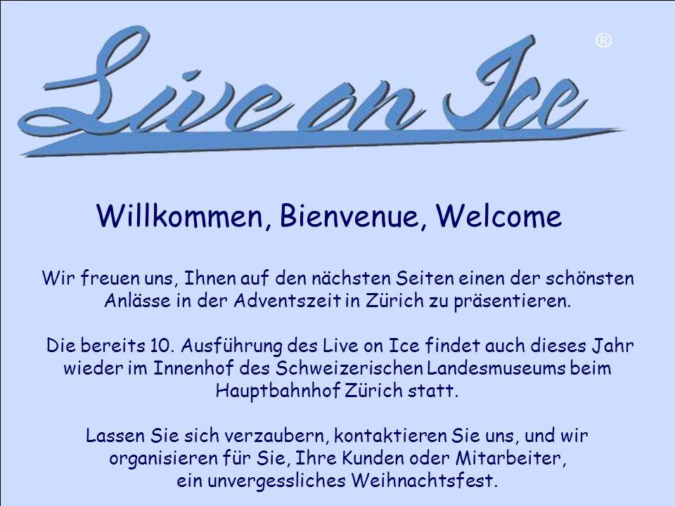 Wir freuen uns, Ihnen auf den nächsten Seiten einen der schönsten Anlässe in der Adventszeit in Zürich zu präsentieren.