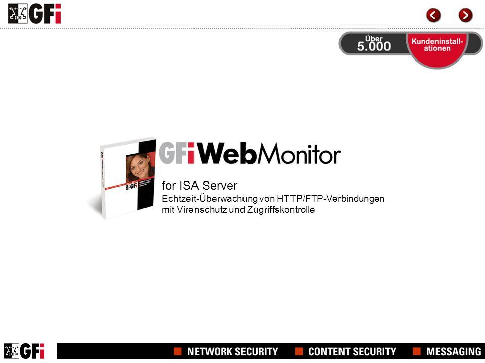 Überblick Herausforderung IT-Sicherheit Leistungsmerkmale von GFI WebMonitor Kundenempfehlungen Kunden von GFI Zusammenfassung