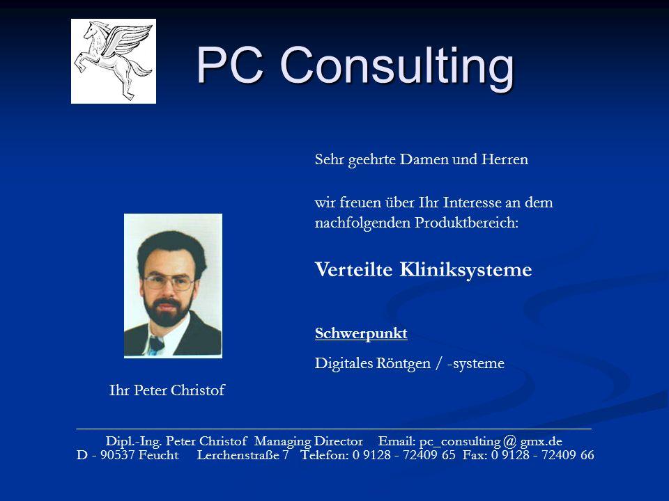 PC Consulting _____________________________________________________________________ Dipl.-Ing.