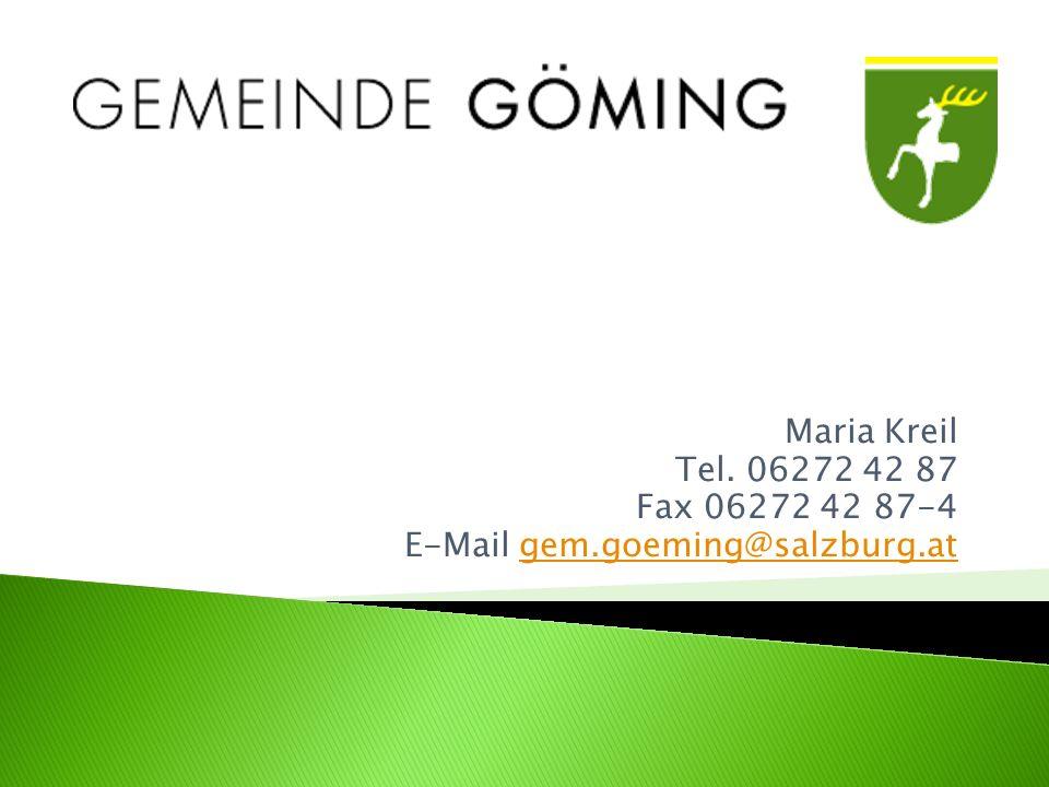 Maria Kreil Tel.