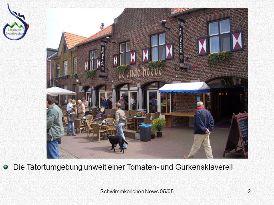 Schwimmkerlchen News 05/052 Die Tatortumgebung unweit einer Tomaten- und Gurkensklaverei!