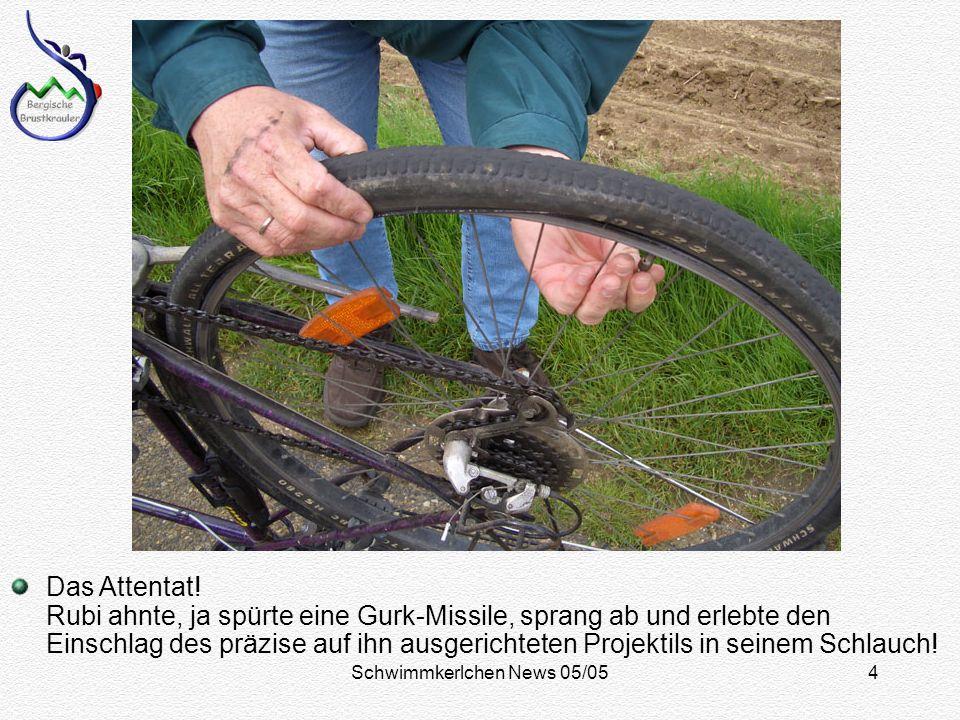 Schwimmkerlchen News 05/054 Das Attentat.