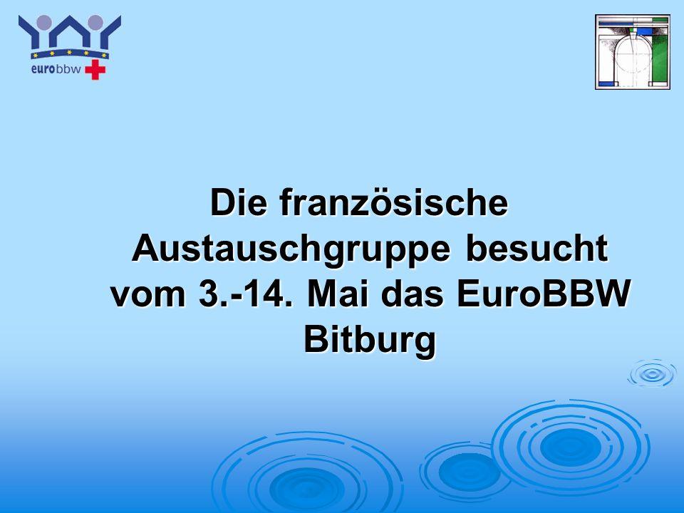 Logo 1 Die französische Austauschgruppe besucht vom 3.-14. Mai das EuroBBW Bitburg