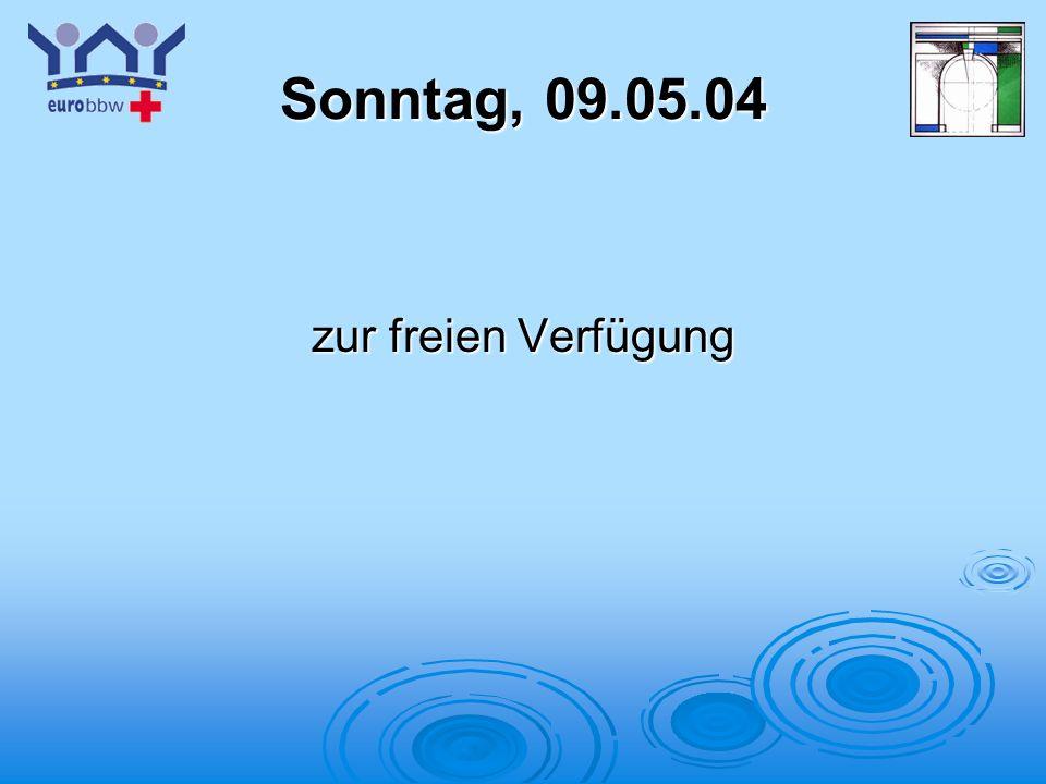 Logo 1 Sonntag, 09.05.04 zur freien Verfügung