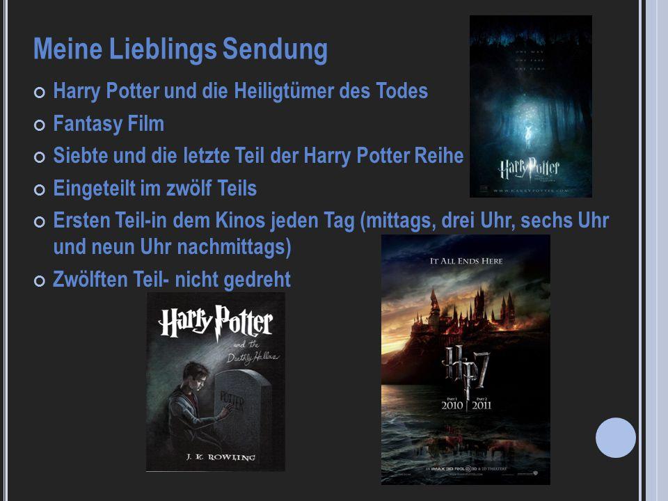 Harry Potter und die Heiligtümer des Todes Fantasy Film Siebte und die letzte Teil der Harry Potter Reihe Eingeteilt im zwölf Teils Ersten Teil-in dem