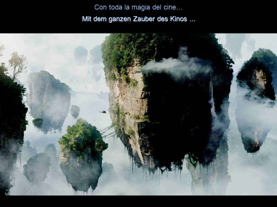 Las montañas flotantes de Pandora, en la película Avatar: Die schwimmenden Berge von Pandora im Film Avatar: