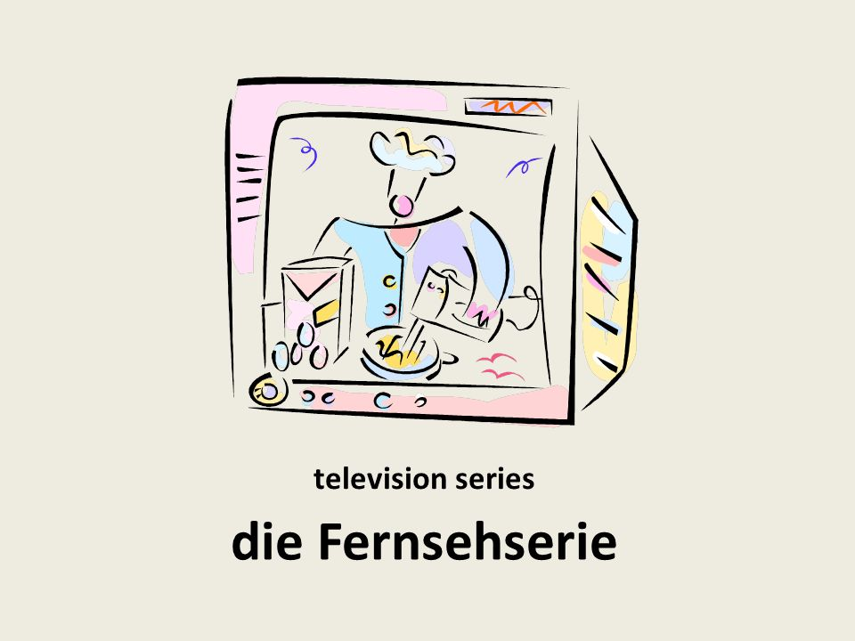 television series die Fernsehserie