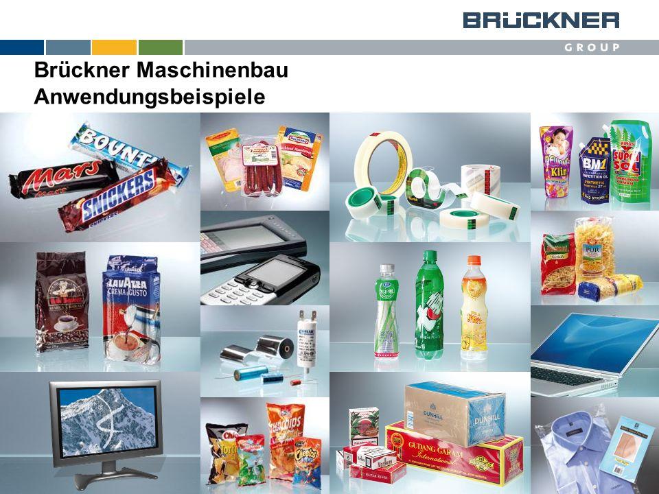 © Brückner Brückner Maschinenbau Anwendungsbeispiele
