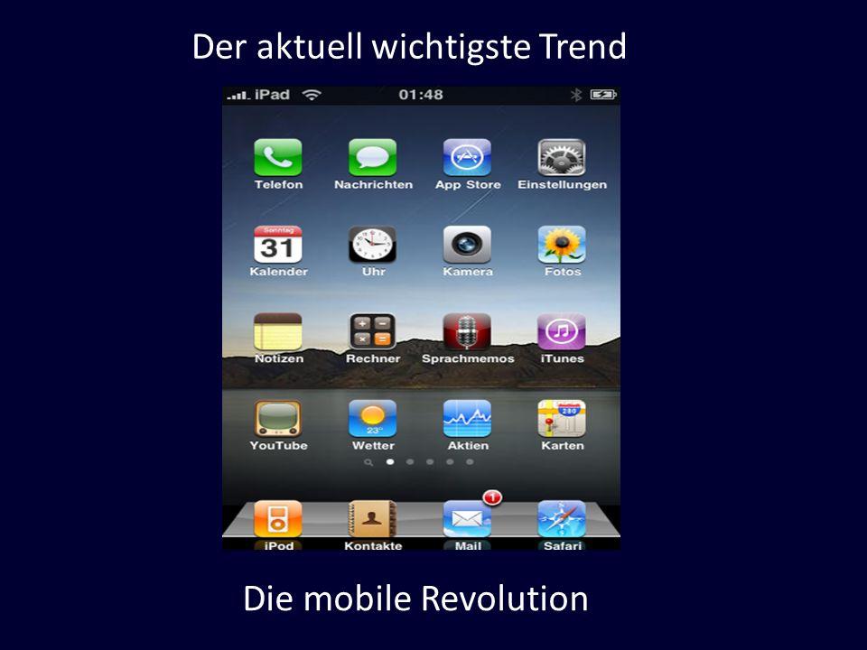 Der aktuell wichtigste Trend Die mobile Revolution