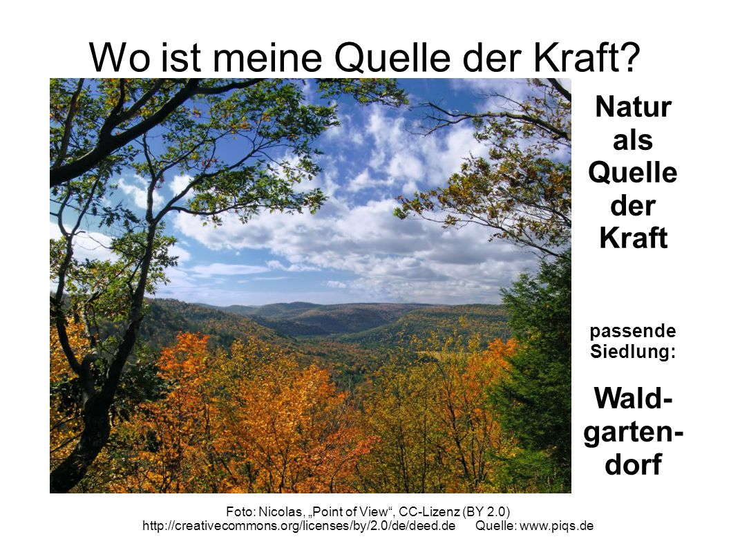 Wo ist meine Quelle der Kraft? Foto: Nicholas, Touch of Autumn, CC-Lizenz (BY 2.0) http://creativecommons.org/licenses/by/2.0/de/deed.de Quelle: www.p