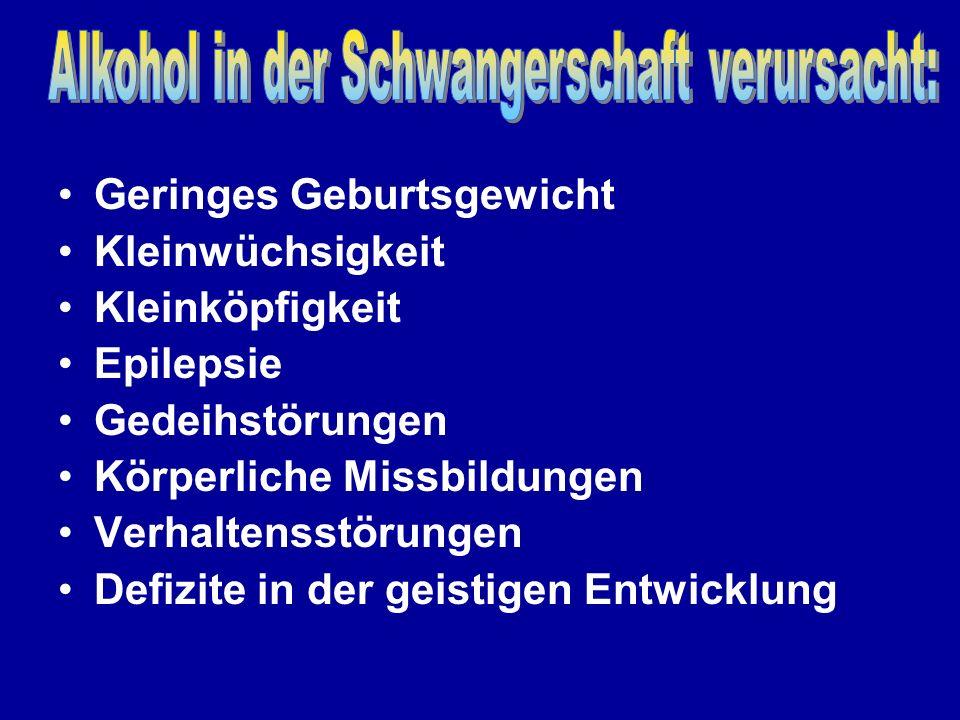 Bildquelle: Löser Alkoholembryopathie und Alkoholeffekte