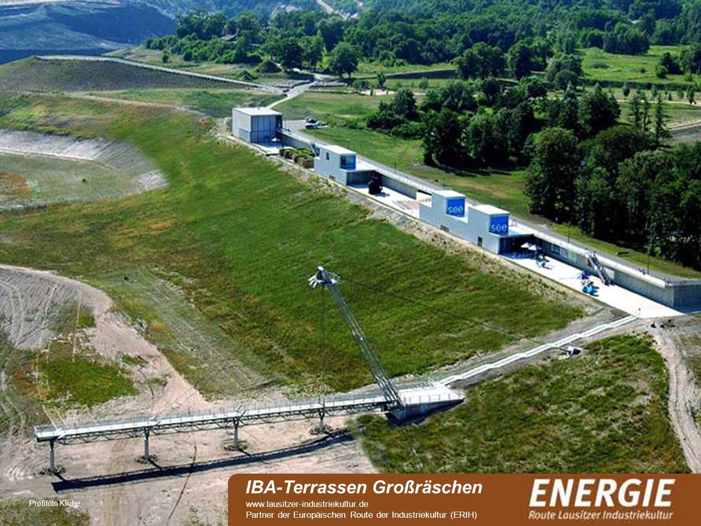 see Profifoto Kliche IBA-Terrassen Großräschen www.lausitzer-industriekultur.de Partner der Europäischen Route der Industriekultur (ERIH)