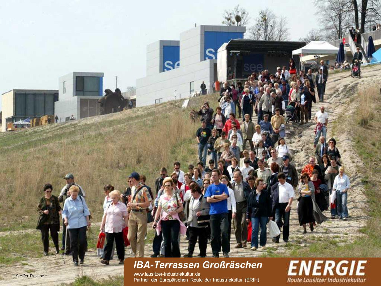 see Steffen Rasche IBA-Terrassen Großräschen www.lausitzer-industriekultur.de Partner der Europäischen Route der Industriekultur (ERIH)
