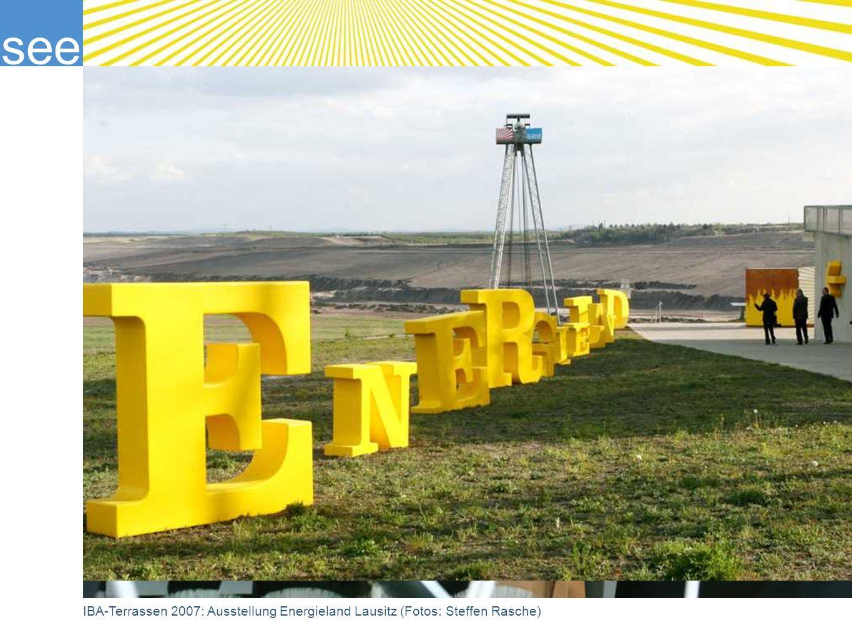 see IBA-Terrassen 2007: Ausstellung Energieland Lausitz (Fotos: Steffen Rasche)