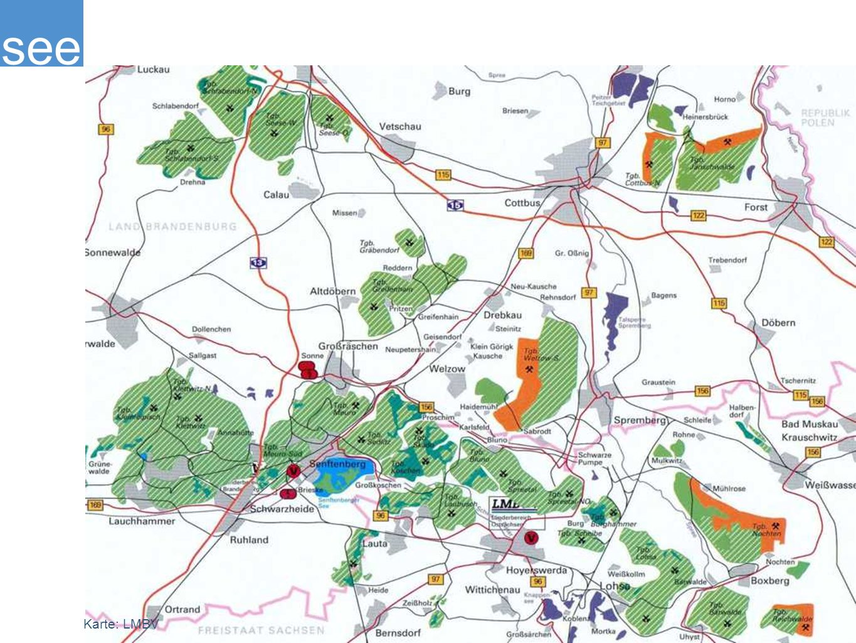 see Entwurf: Weidinger Landschaftsarchitekten, Berlin Biotürme Lauchhammer www.lausitzer-industriekultur.de Partner der Europäischen Route der Industriekultur (ERIH)