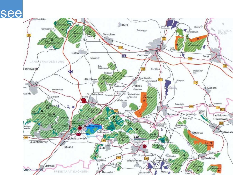 see Karte: LMBV
