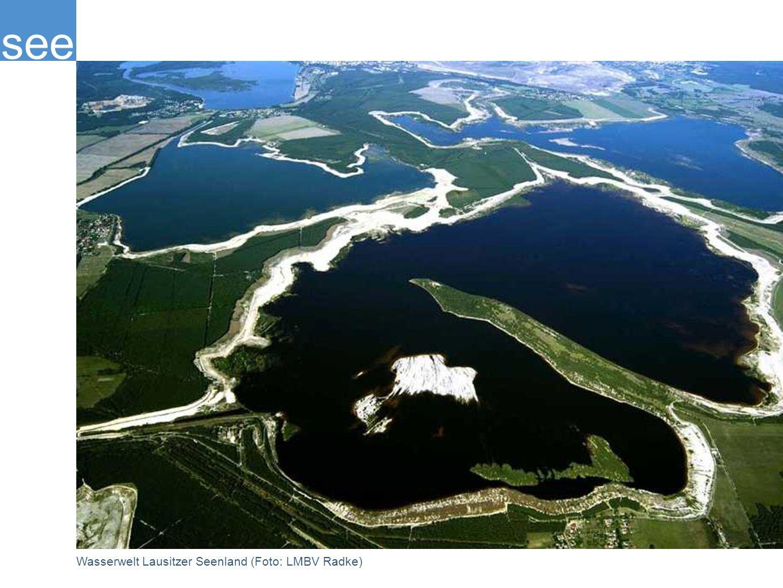 see Wasserwelt Lausitzer Seenland (Foto: LMBV Radke)