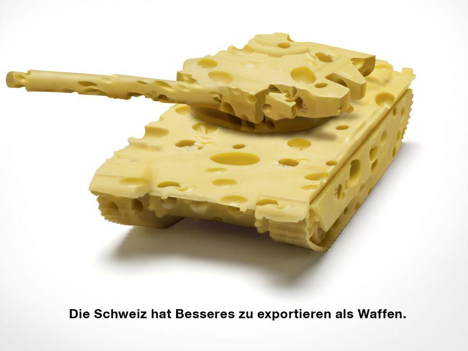 JA zur Volksinitiative für ein Verbot von Kriegsmaterial-Exporten am 29. November!