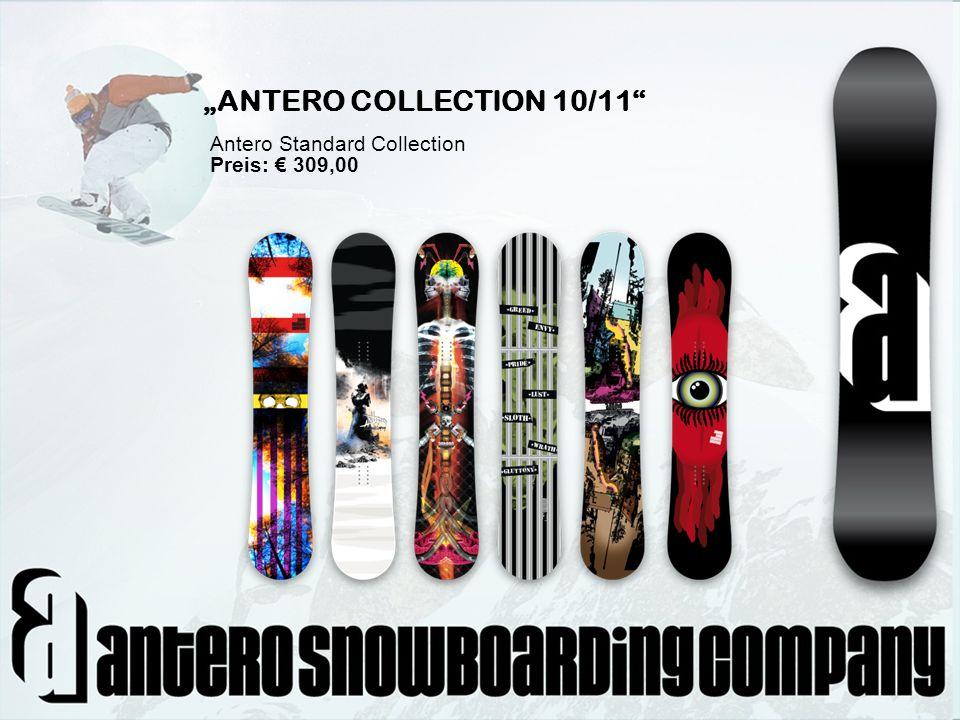 NormalpreisAktionspreisErsparnis Antero Collection Boards 309,00 247,20 247,20 - 61,80 P.B.N.