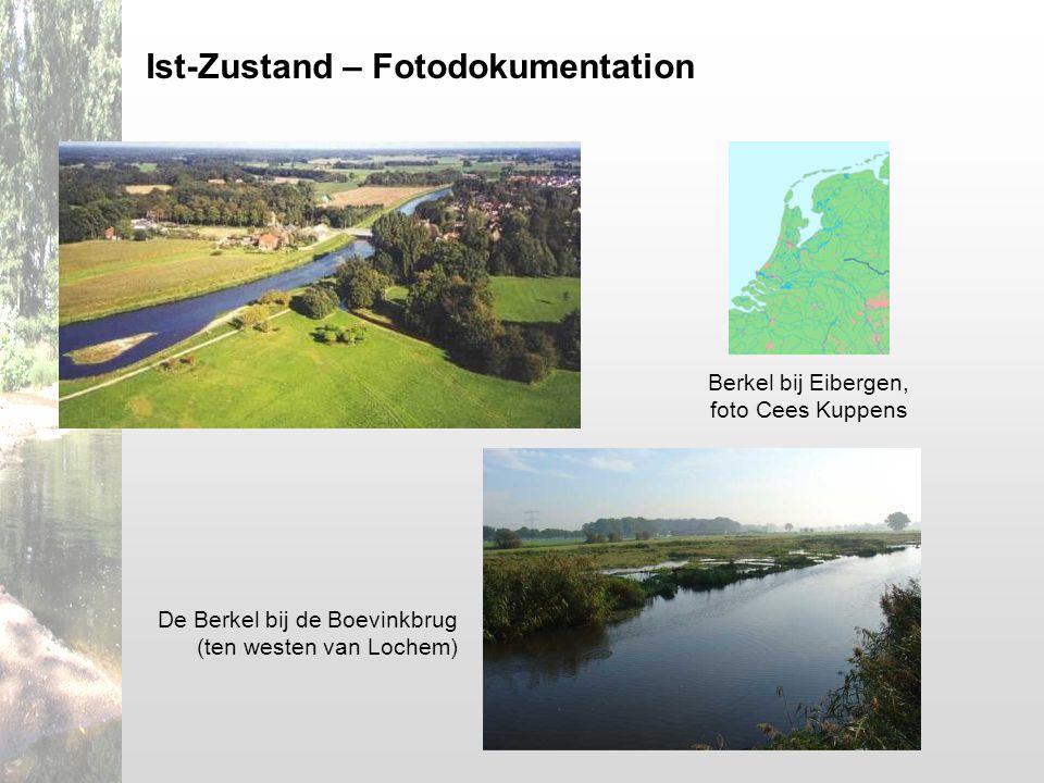 Berkel bij Eibergen, foto Cees Kuppens De Berkel bij de Boevinkbrug (ten westen van Lochem) Ist-Zustand – Fotodokumentation