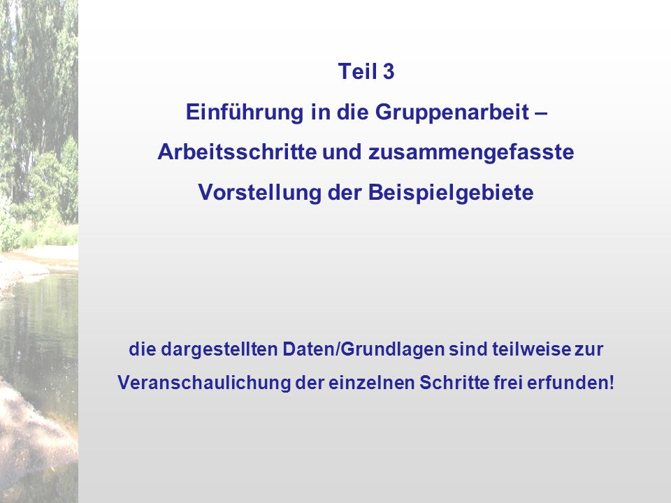 Arbeitsphase A: Bedarfsanalyse Übersichtspläne im DIN A0-Format (Maßstab ca.