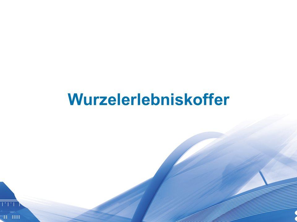 Universität für Bodenkultur Wien Department für Wasser-Atmosphäre- Umwelt Wurzelerlebniskoffer