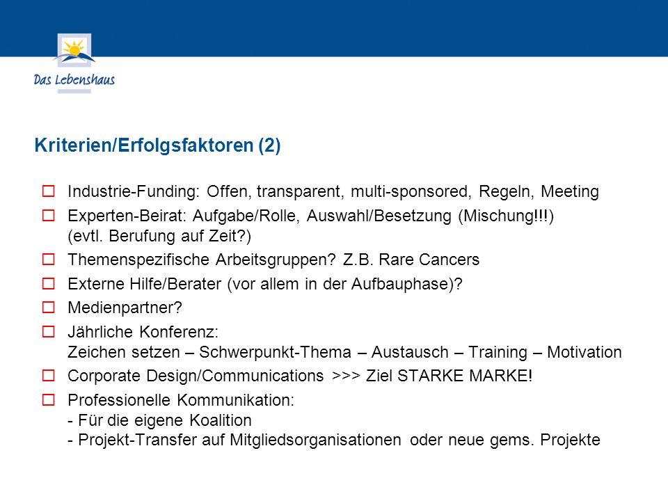 Hier steht Ihre Fußzeile Seite 31 Industrie-Funding: Offen, transparent, multi-sponsored, Regeln, Meeting Experten-Beirat: Aufgabe/Rolle, Auswahl/Besetzung (Mischung!!!) (evtl.