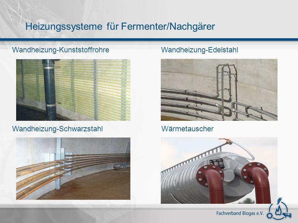 Wandheizung-Kunststoffrohre Wandheizung-Schwarzstahl Wandheizung-Edelstahl Wärmetauscher Heizungssysteme für Fermenter/Nachgärer