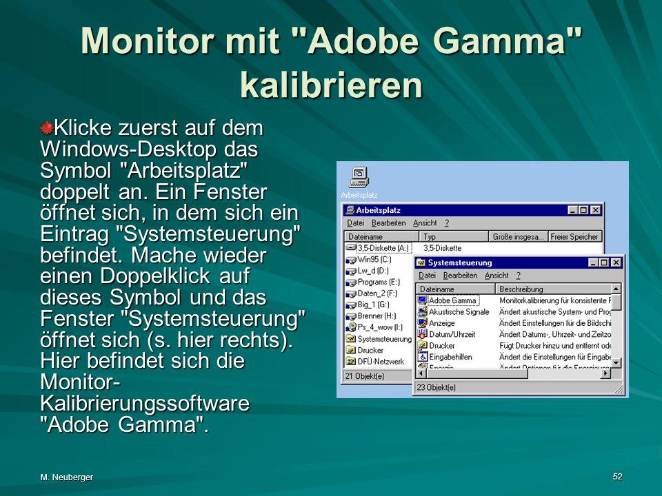 M. Neuberger 52 Monitor mit