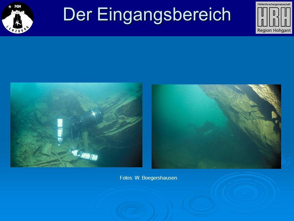 Der Eingangsbereich Fotos: W. Boegershausen