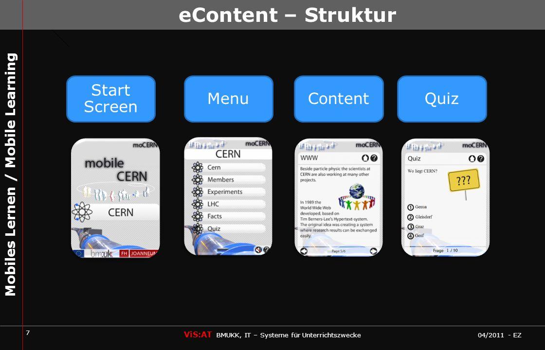 8 ViS:AT BMUKK, IT – Systeme für Unterrichtszwecke 04/2011 - EZ Mobiles Lernen / Mobile Learning Das Heft zum Ausdrucken Was ist mobiles Lernen.