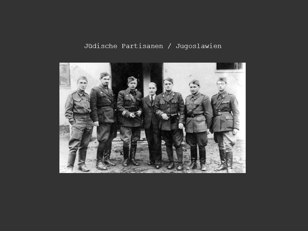 Jüdische Partisanen / Jugoslawien