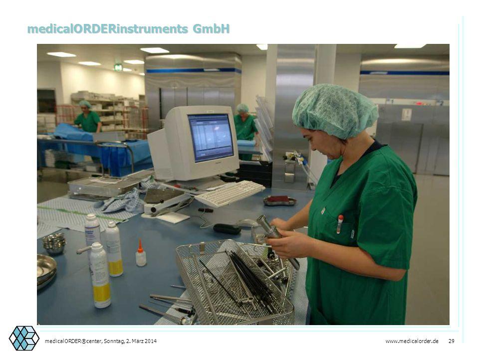 www.medicalorder.de 28medicalORDER®center, Sonntag, 2. März 2014 medicalORDERinstruments Die wirtschaftliche Sterilisation Manuelle AufbereitungSchleu