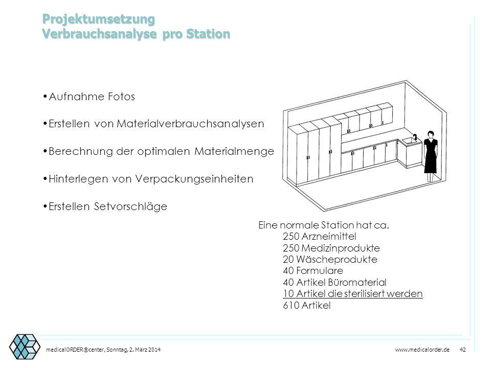 www.medicalorder.de 41medicalORDER®center, Sonntag, 2. März 2014 Schrankanlagen festlegen Hochschränke Hochschränke Unterschränke Unterschränke Obersc