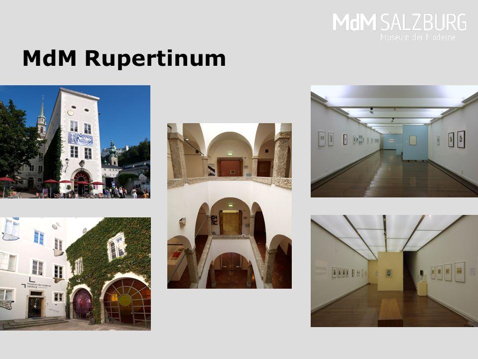 Floorplan 2nd Floor, MdM Rupertinum