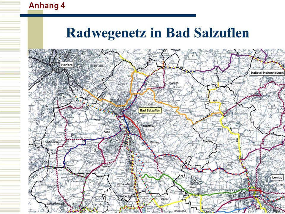 Radwegenetz in Bad Salzuflen Anhang 4