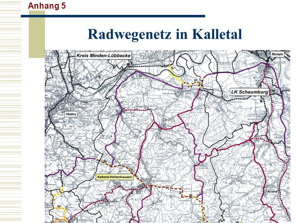 Radwegenetz in Kalletal Anhang 5