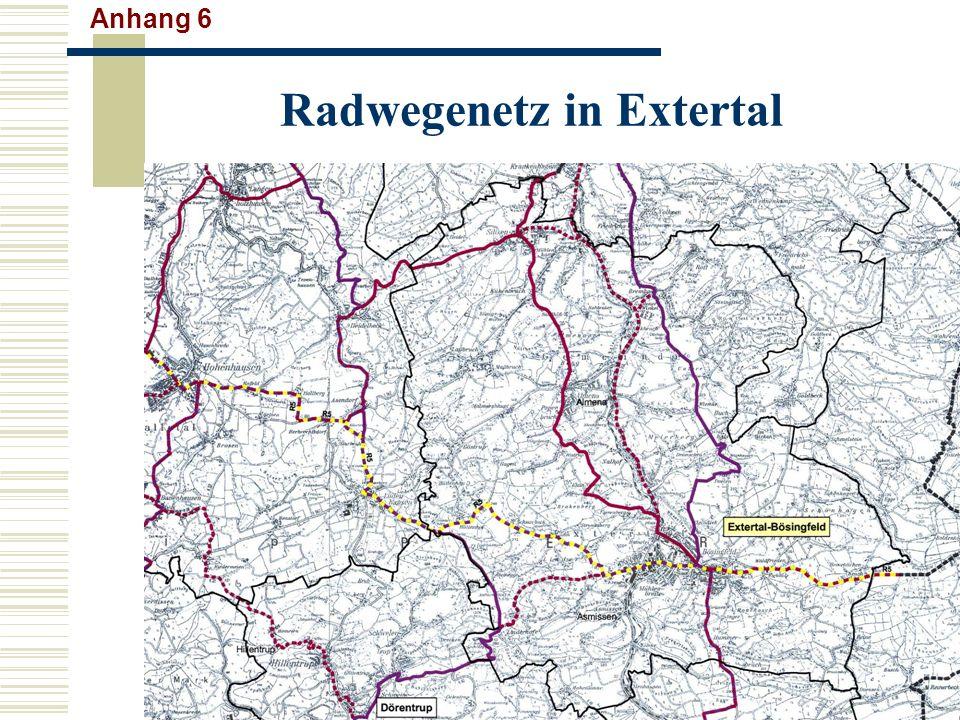 Radwegenetz in Extertal Anhang 6