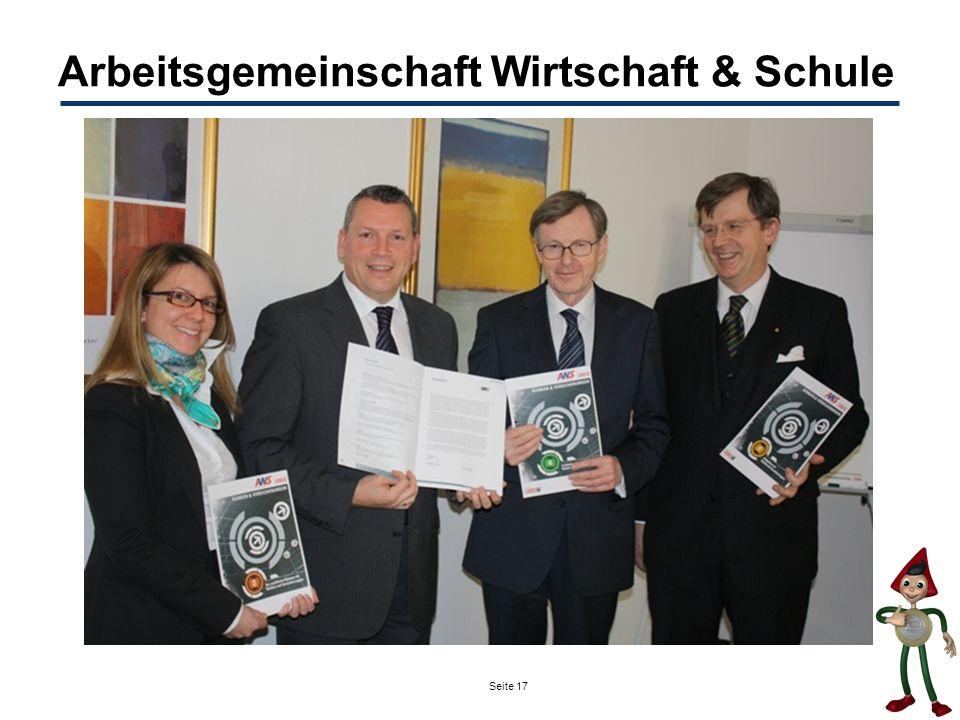 Seite 17 Arbeitsgemeinschaft Wirtschaft & Schule