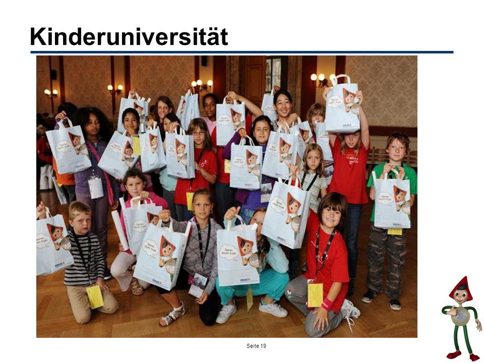 Seite 19 Kinderuniversität