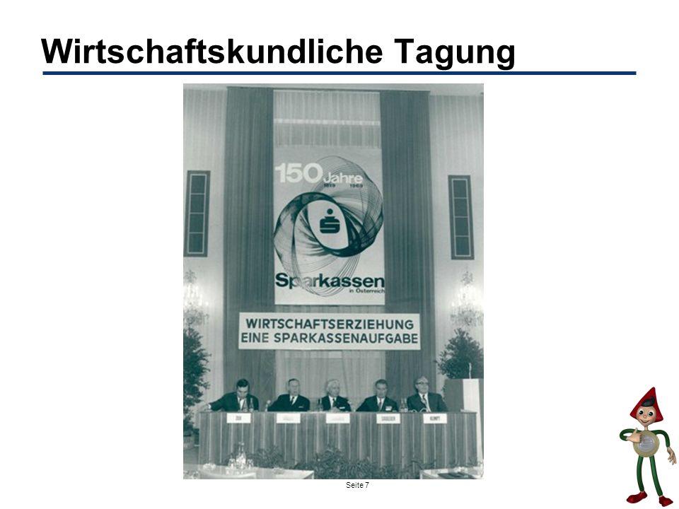 Seite 7 Wirtschaftskundliche Tagung