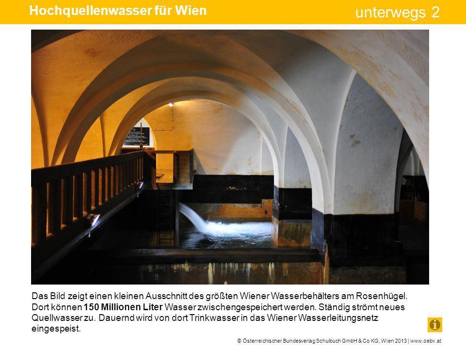 © Österreichischer Bundesverlag Schulbuch GmbH & Co KG, Wien 2013 | www.oebv.at unterwegs 2 Das Bild zeigt einen kleinen Ausschnitt des größten Wiener