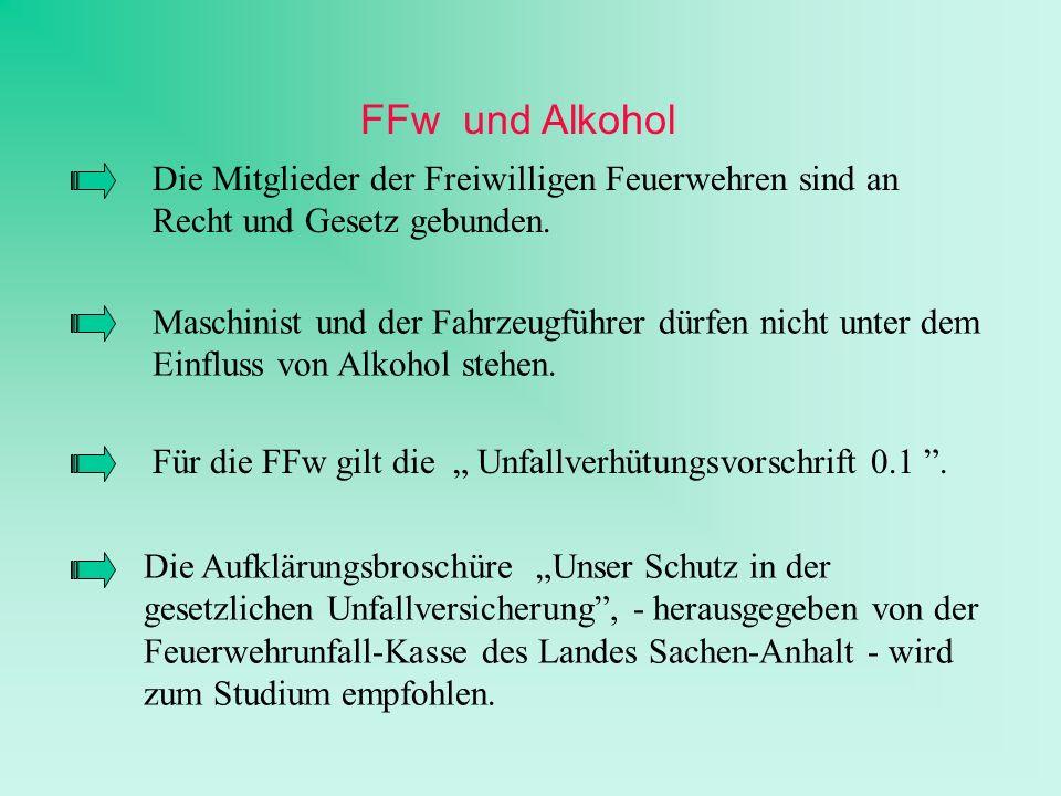 Die Aufklärungsbroschüre Unser Schutz in der gesetzlichen Unfallversicherung, - herausgegeben von der Feuerwehrunfall-Kasse des Landes Sachen-Anhalt -