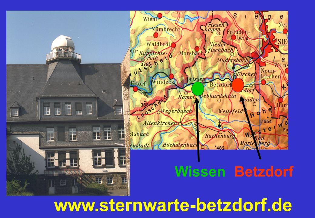 www.sternwarte-betzdorf.de Betzdorf Wissen