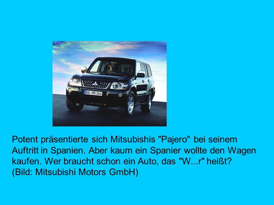 Potent präsentierte sich Mitsubishis Pajero bei seinem Auftritt in Spanien.