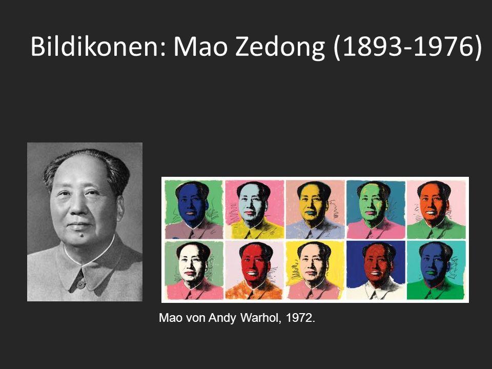 Bildikonen: Mao Zedong (1893-1976) Mao von Andy Warhol, 1972.