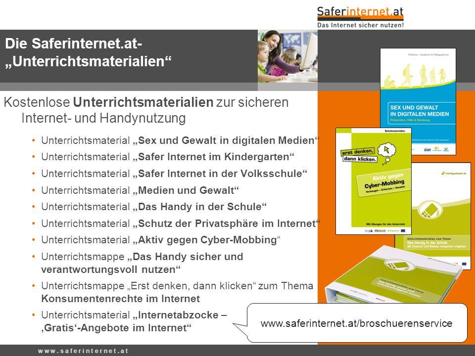 Kostenlose Unterrichtsmaterialien zur sicheren Internet- und Handynutzung Unterrichtsmaterial Sex und Gewalt in digitalen Medien Unterrichtsmaterial S